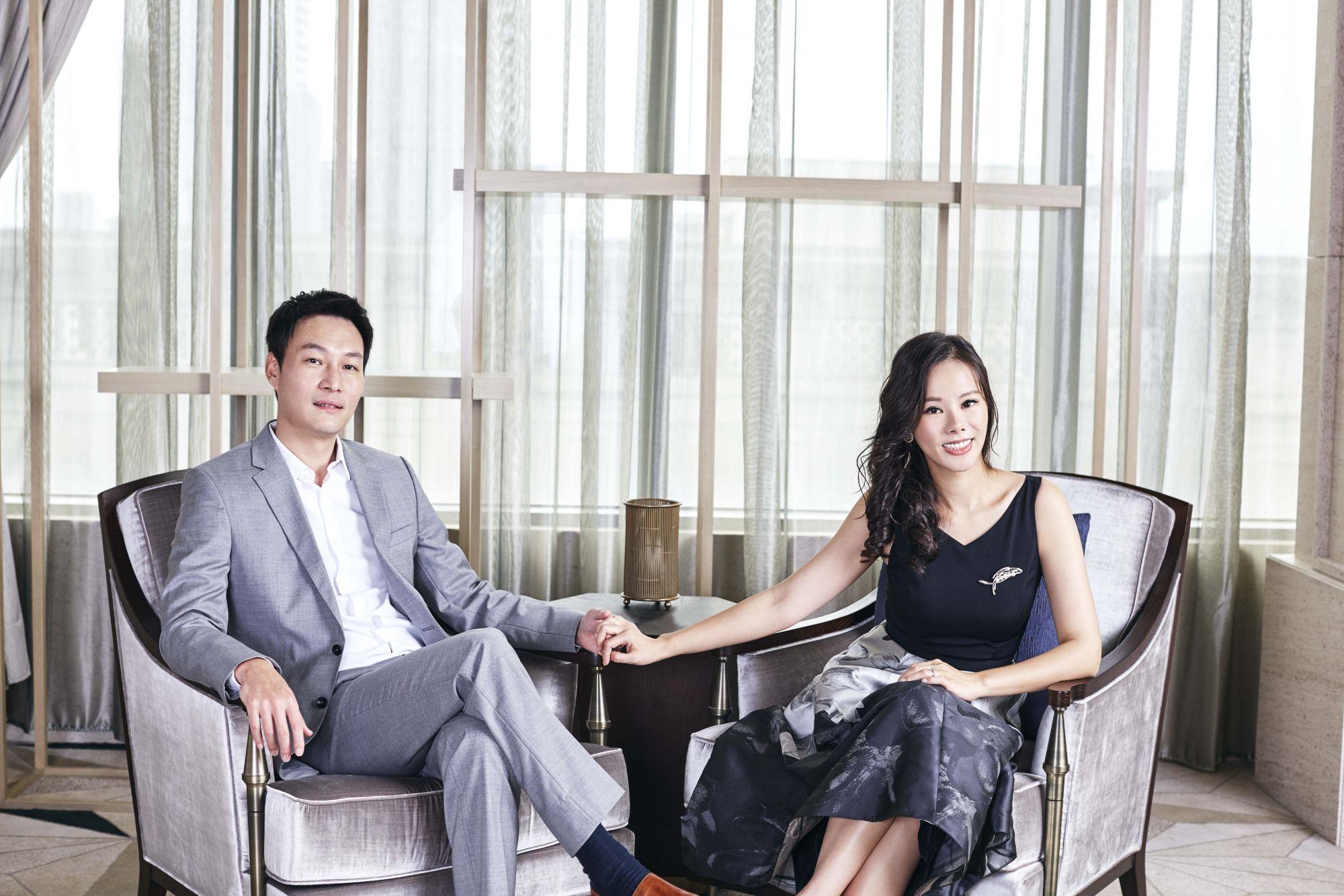 Taiwan Tatler Award 2018年度璀璨魅力伉儷獎得主:川菱工業股份有限公司董事長陳逸霖、陳孟妮伉儷