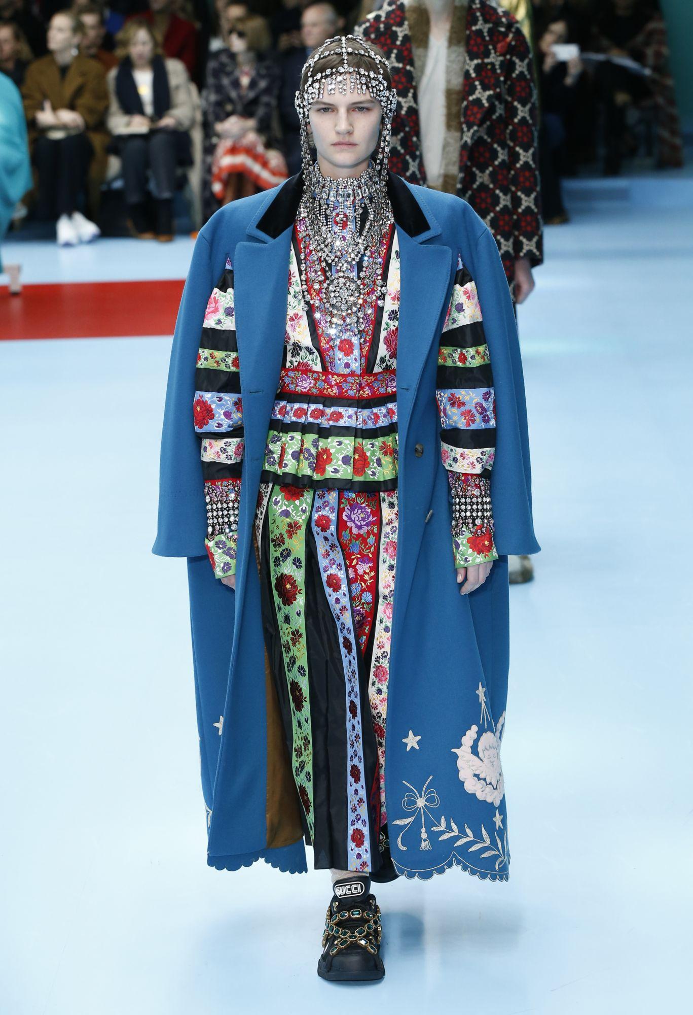 Gucci 2018 秋冬系列。