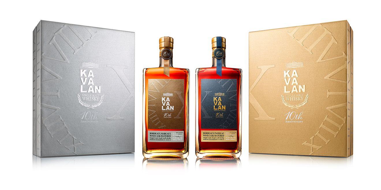 同慶台灣威士忌的精彩十週年!金車噶瑪蘭紀念雙酒款隆重上市