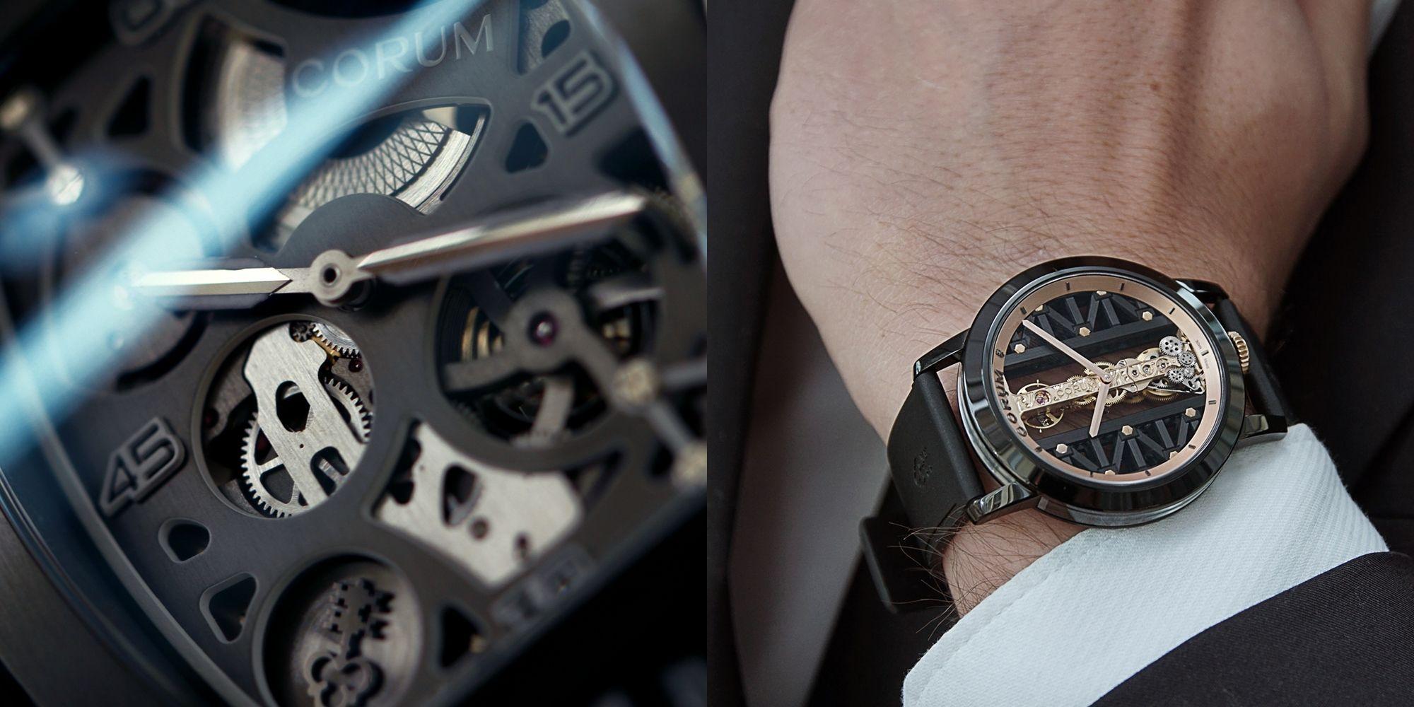 CORUM年末話題錶款酷黑有型,傳承創新兼具有「鈦」度