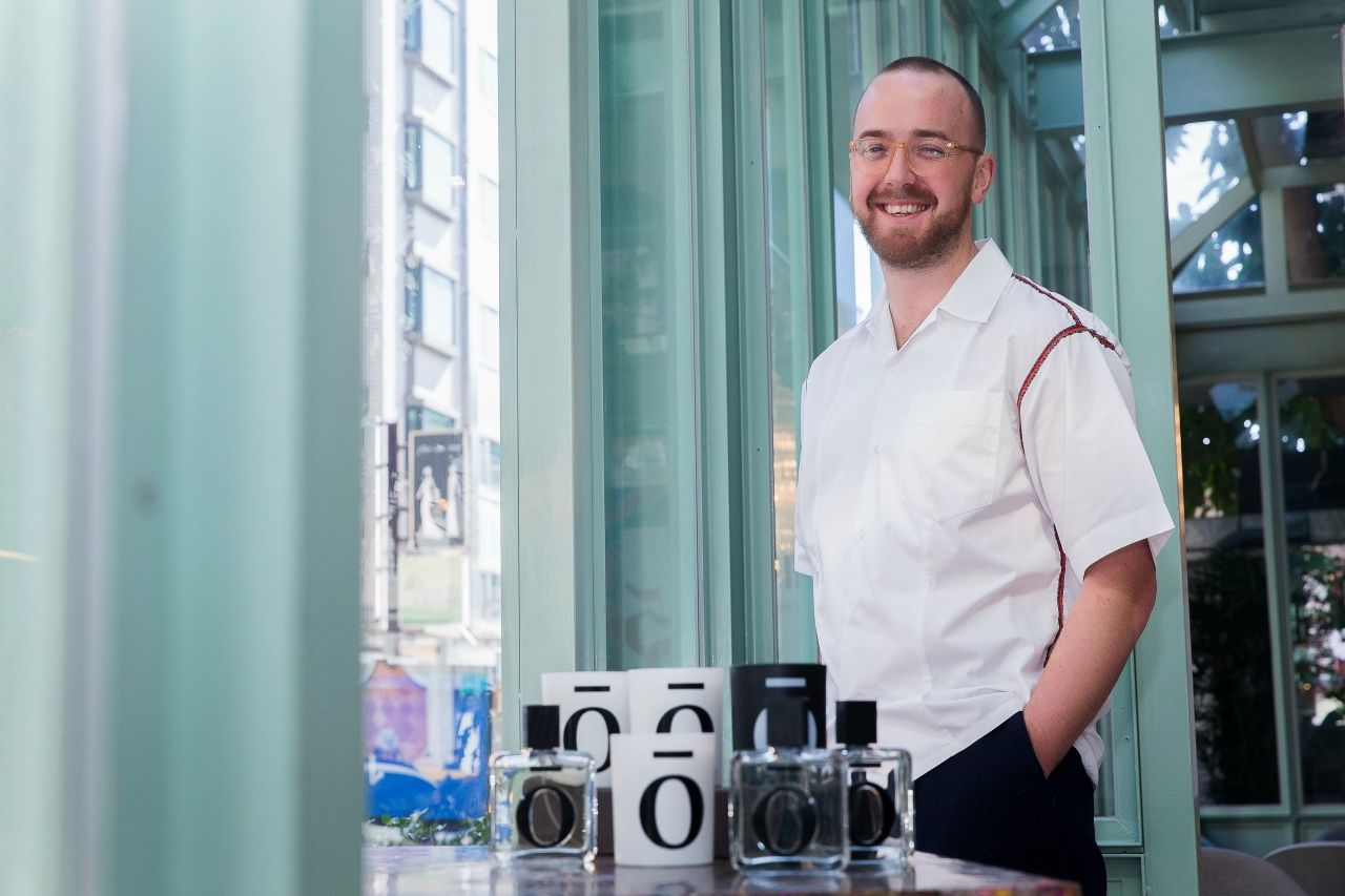 倫敦新銳香氛IIUVO創辦人Leo Gibbon:「將音樂幻化成香味,是我們最獨特的地方。」