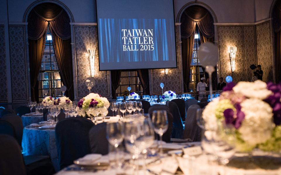 Taiwan Tatler Ball 2015:紅毯與雞尾酒時刻