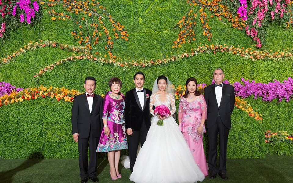 Franck Muller亞太區副主席朱俊浩新婚大喜
