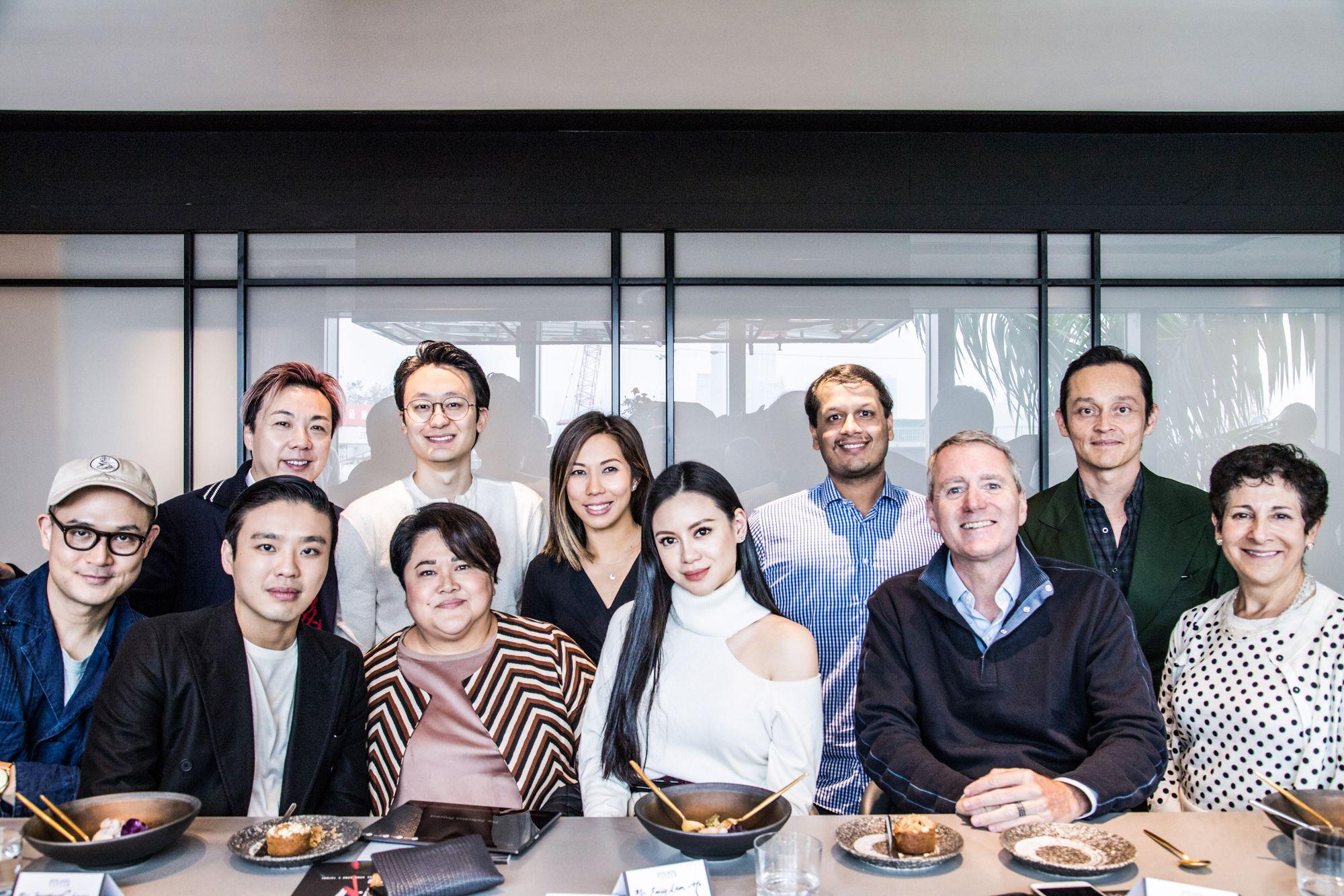 Back row: Francis Cheng, Chibo Tang, Tamara Lamunière, Manav Gupta, Sean Fitzpatrick. Front row: Federico Tan, Jonathan Cheung, Cathy Chon, Emily Lam-Ho, John Wood, Ruth Shapiro