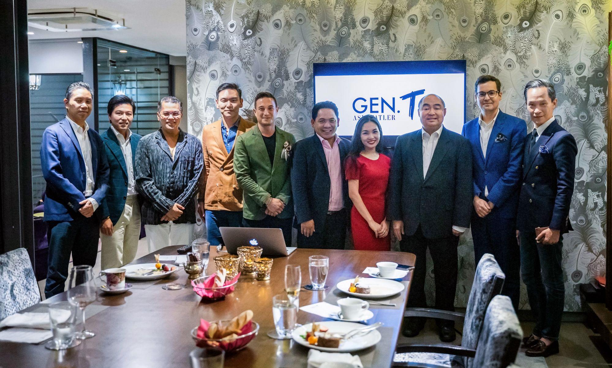 Generation T Asia editor Lee Williamson and Thailand Tatler's Mika Apichatsakol with the Thailand Tatler Tribe
