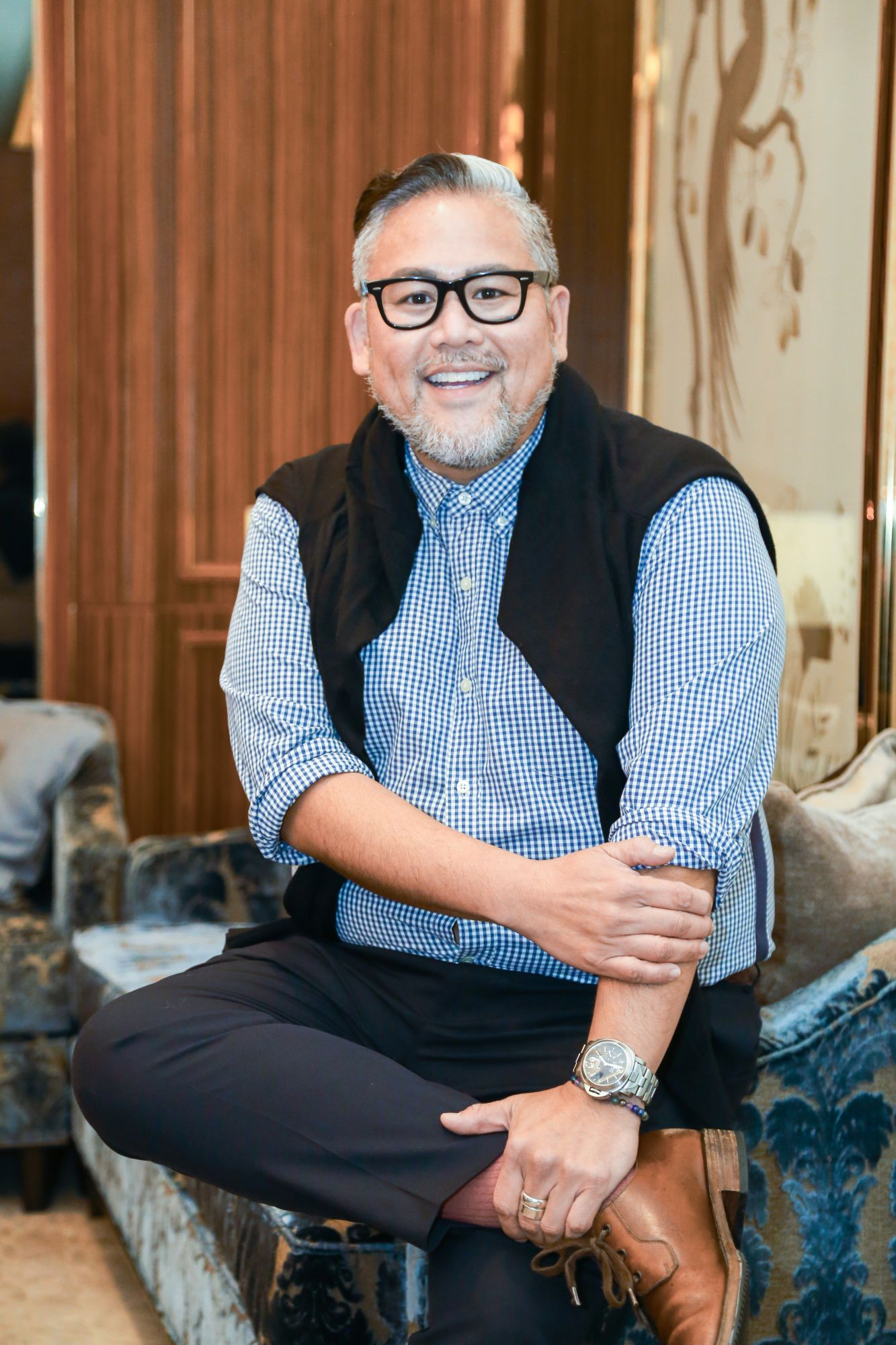 Rajo Laurel, fashion designer