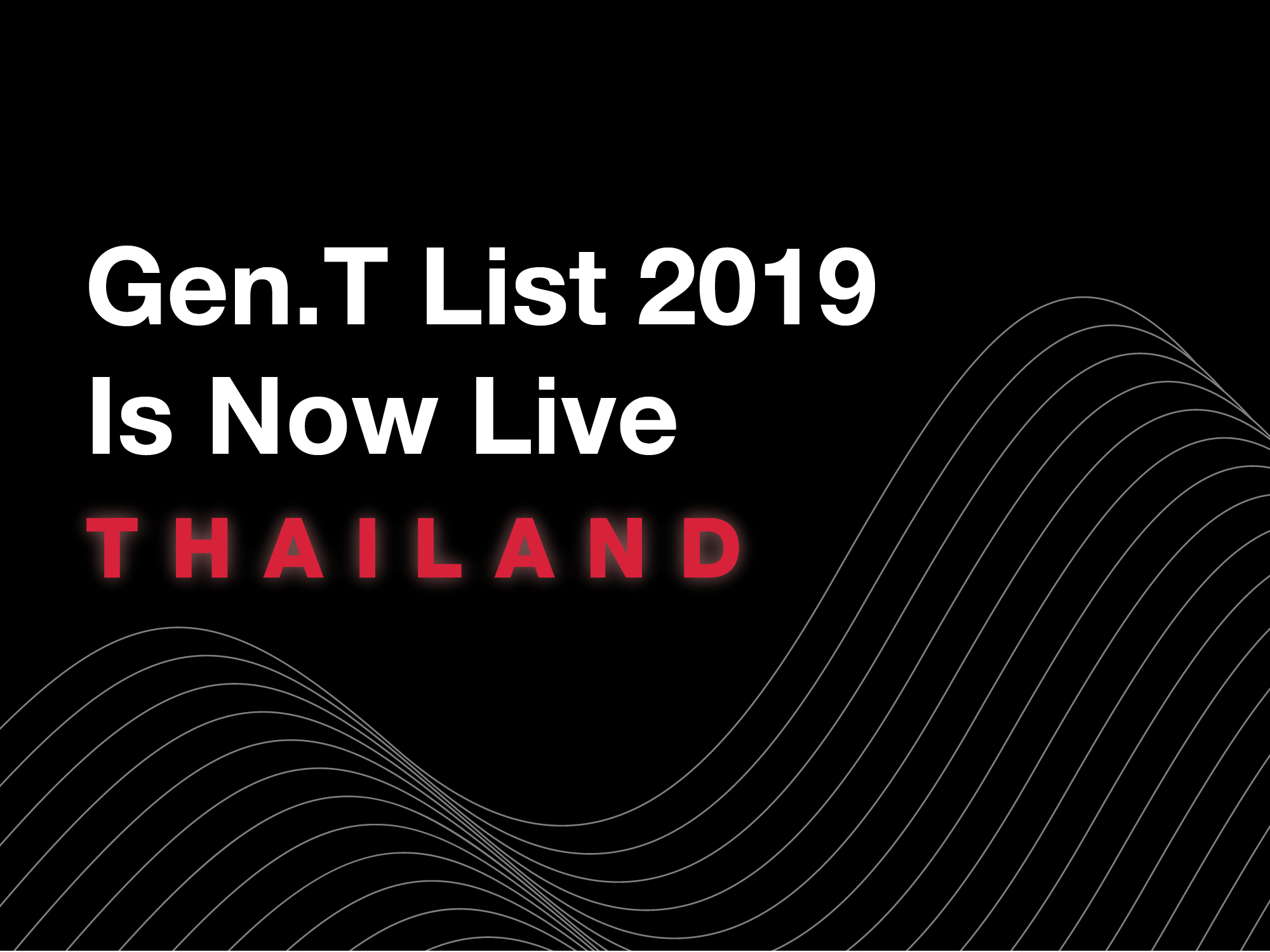 See The Thailand Honourees On The Gen.T List 2019