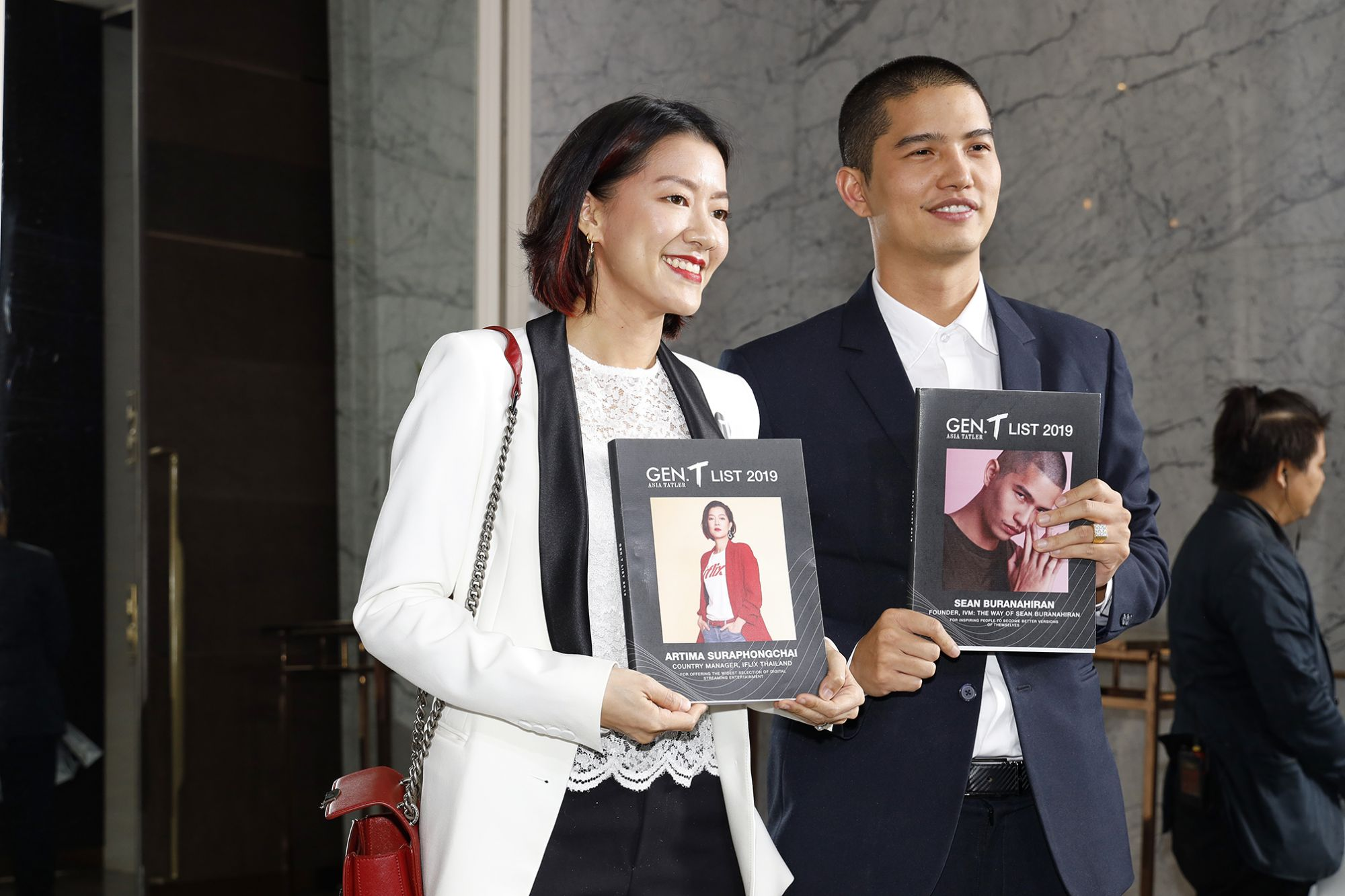 Honourees Artima Suraphongchai and Sean Buranahiran
