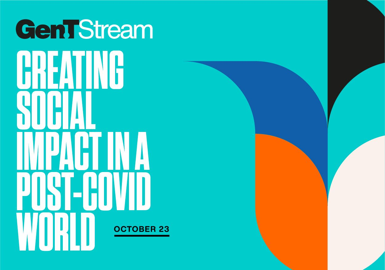 Gen.T Stream: Creating Social Impact In A Post-Covid World, Featuring Jimmy Wales