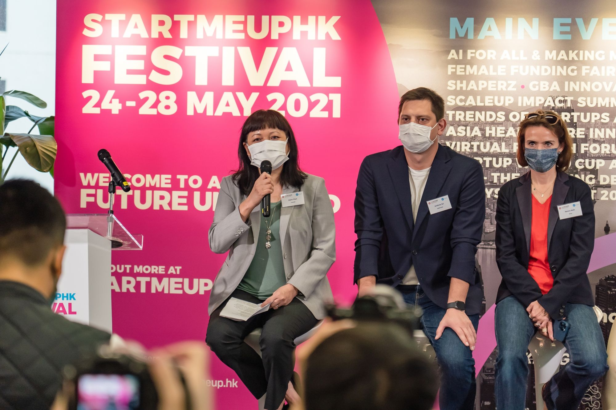 Here's Everything You Need To Know About StartmeupHK Festival 2021