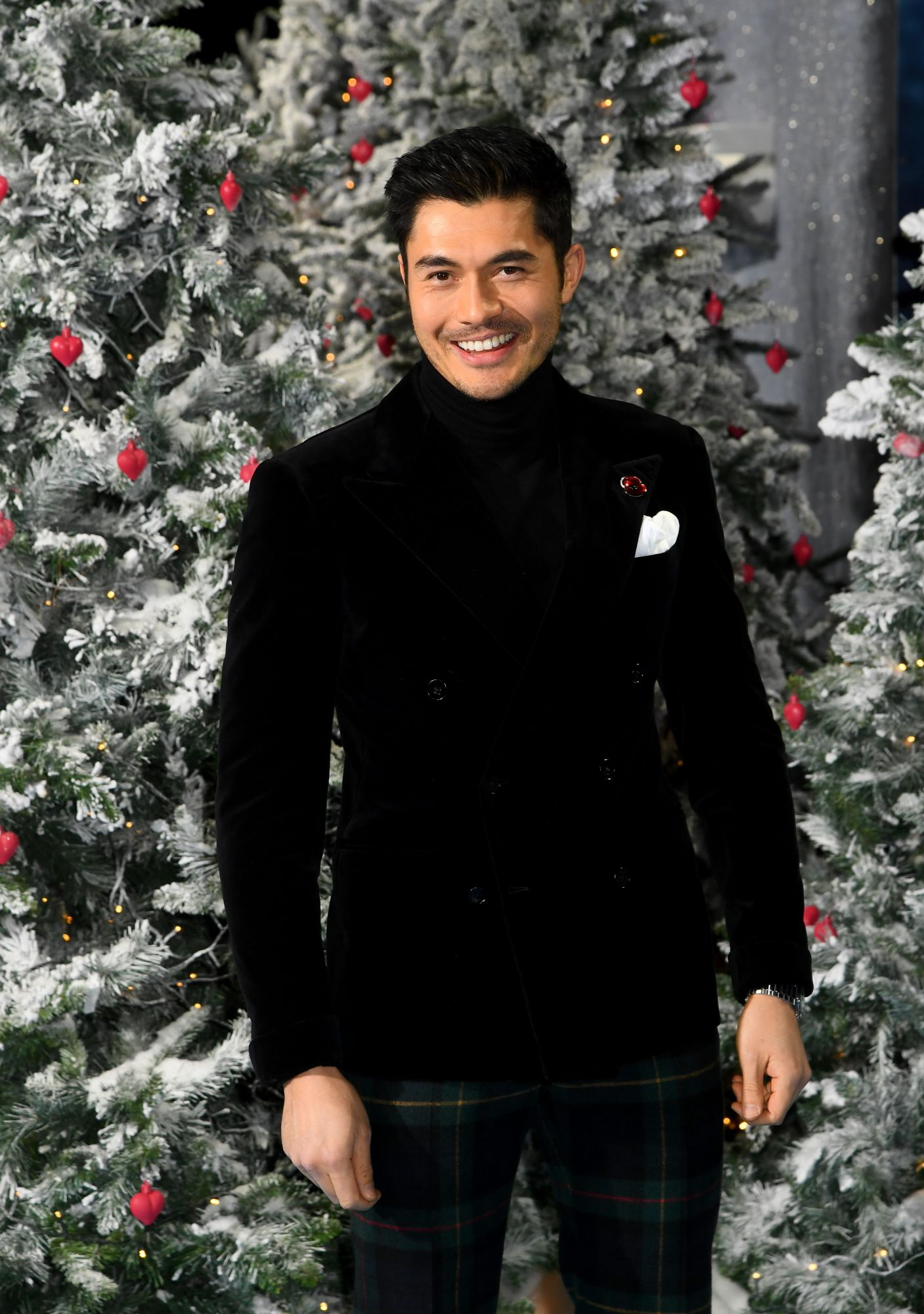 """LONDON, ENGLAND - NOVEMBER 11: Henry Golding attends the """"Last Christmas"""" UK Premiere at BFI Southbank on November 11, 2019 in London, England. (Photo by Dave J Hogan/Getty Images)"""