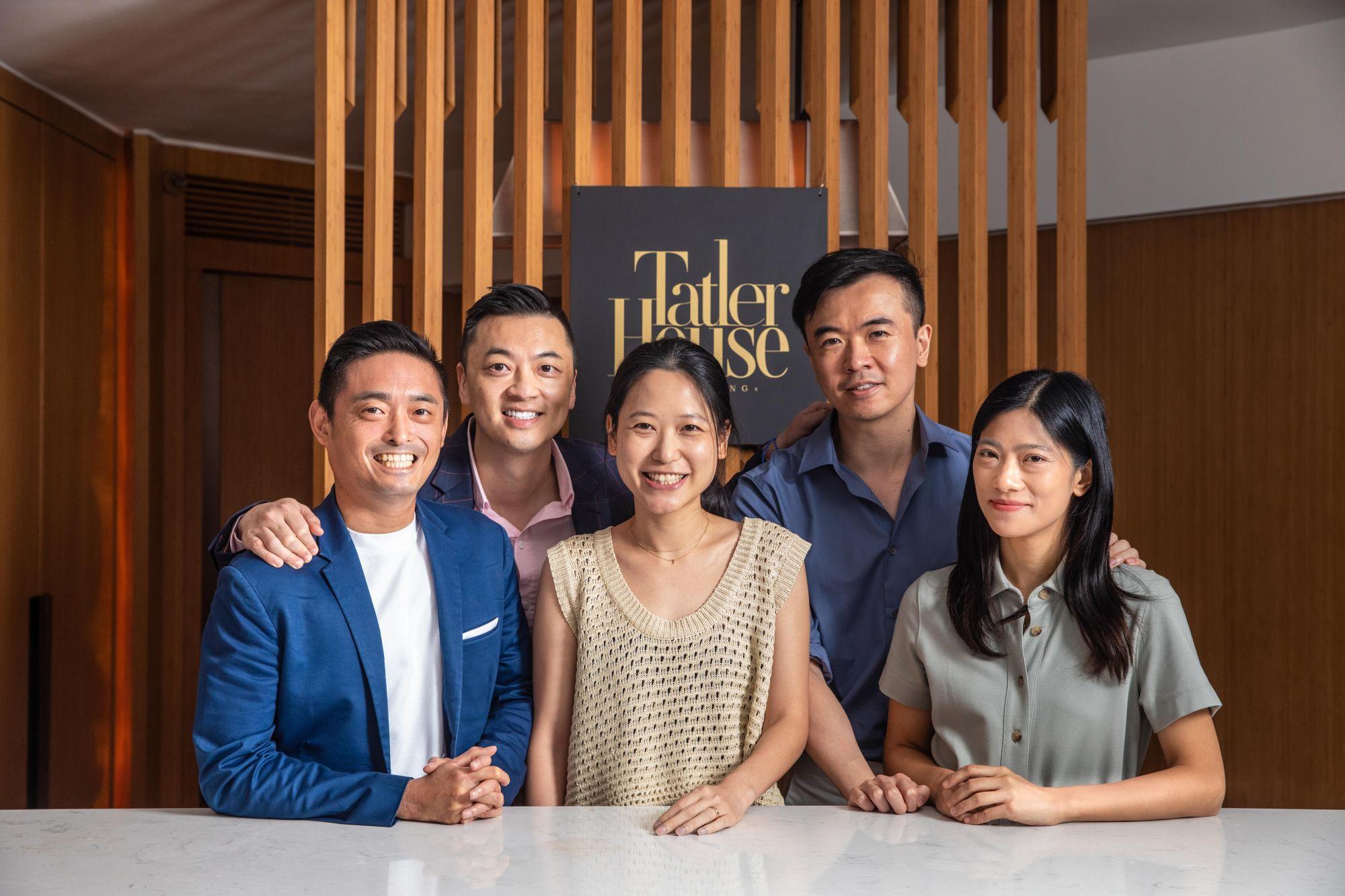 Arthur Lam, Danny Yeung, Fiona Lau, Fred Ngan, Crystal Pang