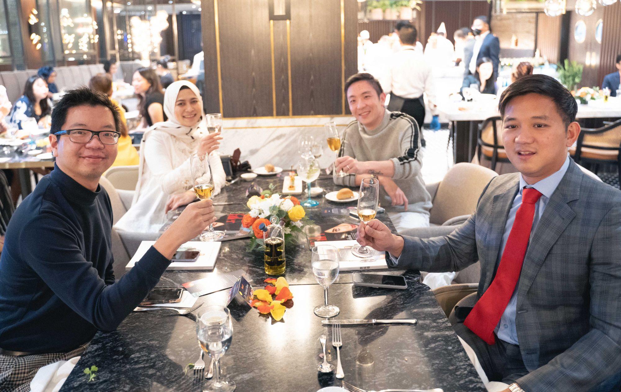 Renard Siew, Nadia Ismadi, Eric Cheng, Dato Chevy Beh