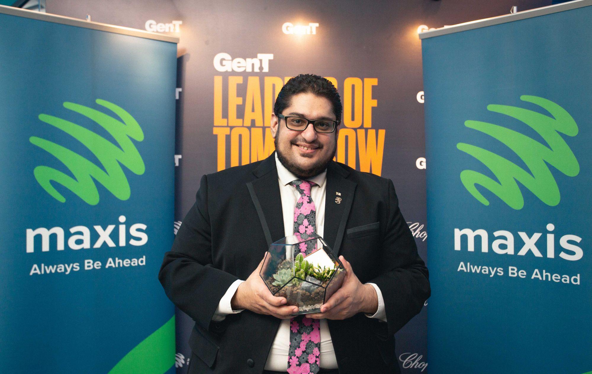 Maxis Awards winner Mohamed Tarek El-Fatatry