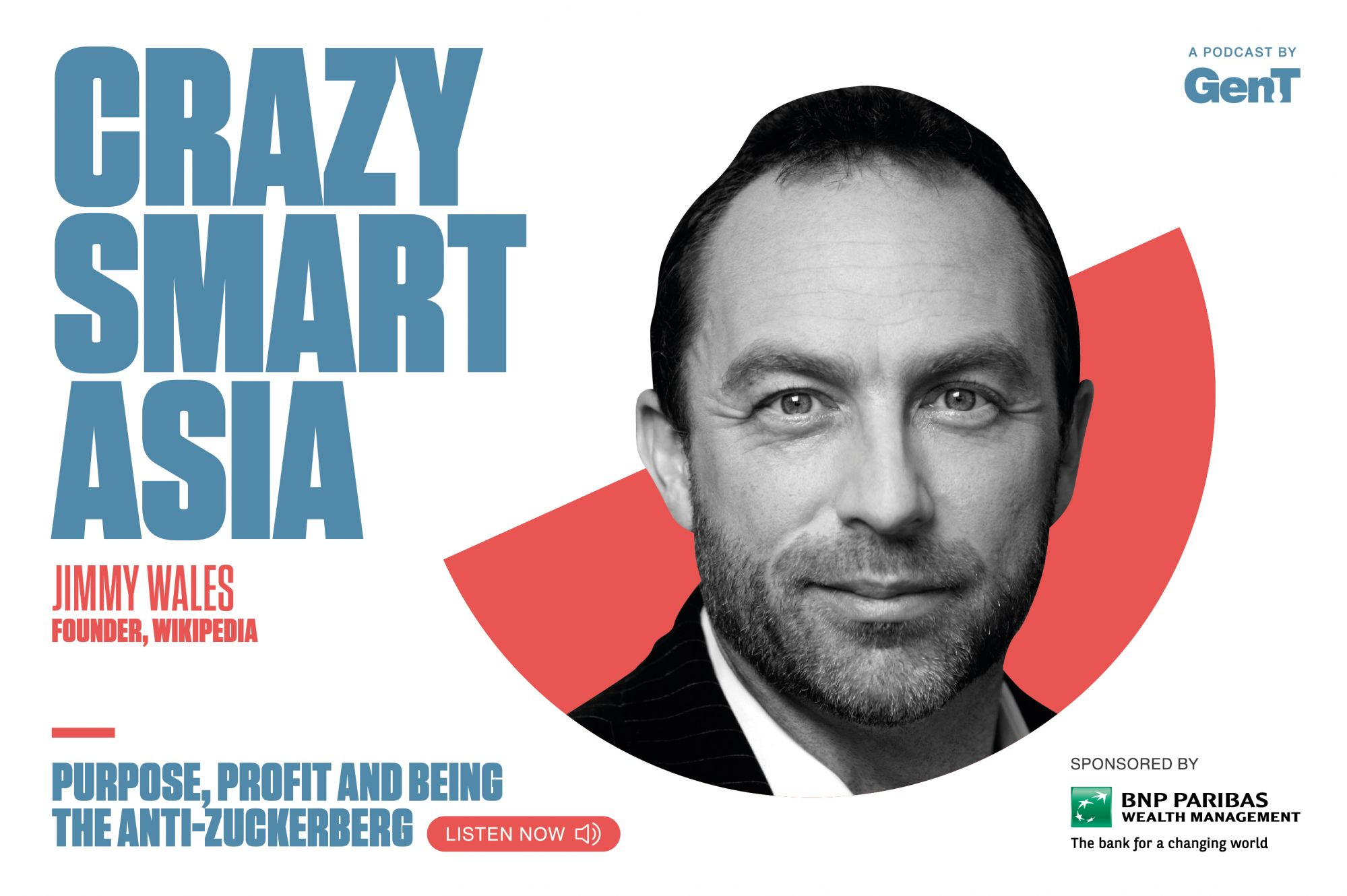 """""""I'm Not Trying To Be The Anti-Zuckerberg"""": Wikipedia Founder Jimmy Wales On Purpose, Profit And Community"""