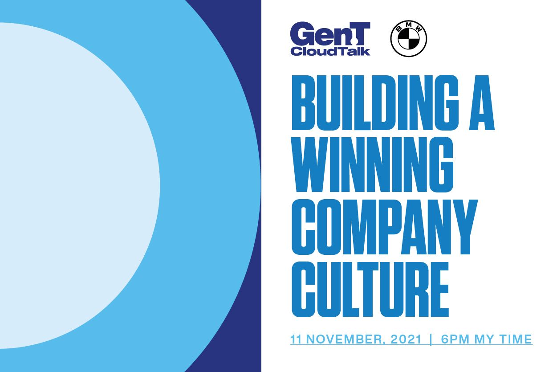 Cloud Talk: How To Build A Winning Company Culture